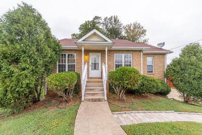 Clarksville TN Single Family Home For Sale: $175,000