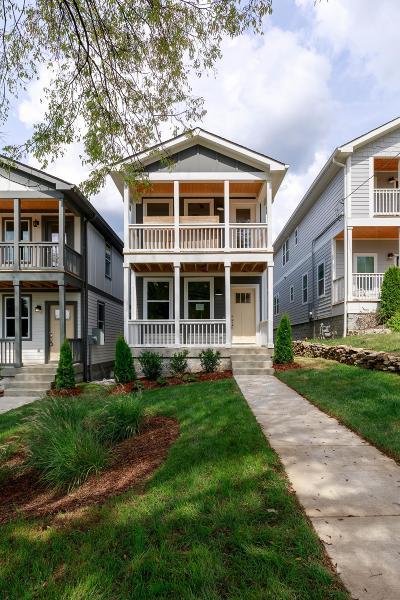 Nashville Single Family Home For Sale: 6110 A Louisiana Ave