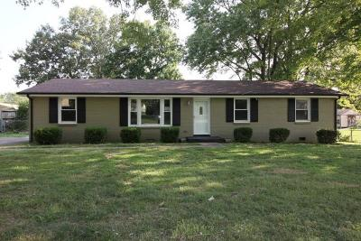 Clarksville TN Single Family Home For Sale: $111,350