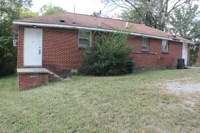 Clarksville Multi Family Home For Sale: 714 Britton Springs Rd