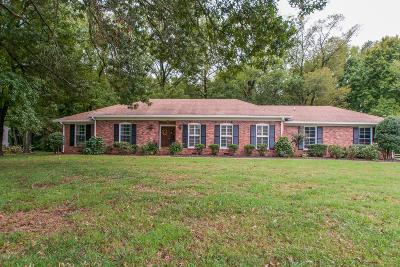 Brentwood Single Family Home For Sale: 1915 Harpeth River Drive