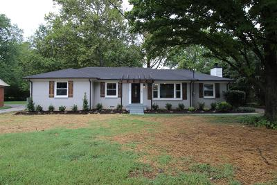 Single Family Home For Sale: 1219 White Blvd