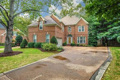 Franklin Single Family Home Under Contract - Showing: 429 Caldwell Ct