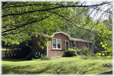 Pegram Single Family Home Under Contract - Showing: 1457 Indian Springs Rd