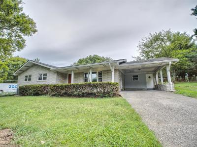 Gallatin Single Family Home For Sale: 260 Dobbins Pike