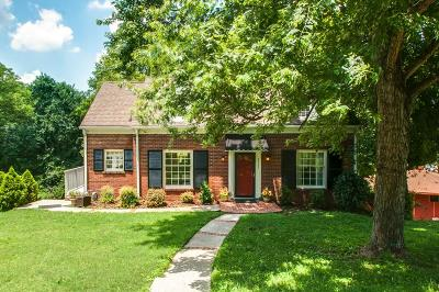 Nashville Single Family Home Under Contract - Showing: 3507 Wilbur