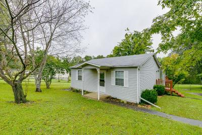 Cheatham County Single Family Home Under Contract - Showing: 1111 Maplewood Rd