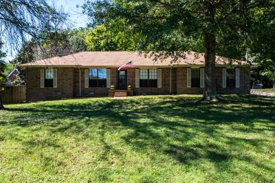 Pegram Single Family Home Under Contract - Showing: 5059 Brakeman Ct