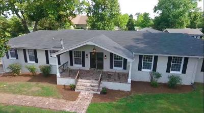 Brentwood Single Family Home For Sale: 1221 Old Hickory Blvd