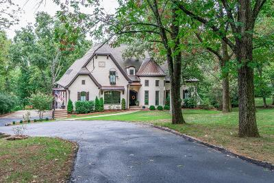 Nashville Single Family Home Under Contract - Showing: 409 Wilsonia Ave