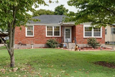 Nashville Single Family Home Under Contract - Showing: 1227 McChesney Ave