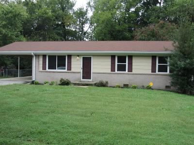 Murfreesboro Single Family Home Under Contract - Not Showing: 1810 Fern Dr