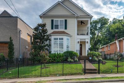 Nashville Single Family Home Under Contract - Showing: 1005 W Grove Ave