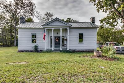 Lewisburg Single Family Home For Sale: 1005 Milltown Rd