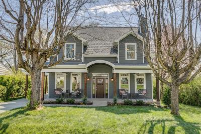 Franklin Single Family Home For Sale: 302 Bel Aire Dr
