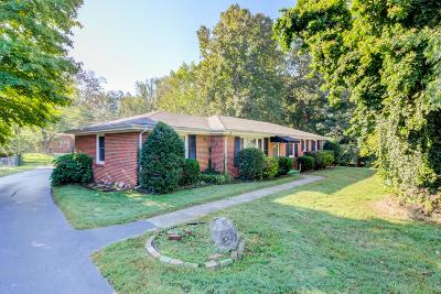 Clarksville Single Family Home Under Contract - Showing: 121 Maxwell Dr
