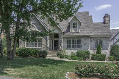 Nashville Single Family Home Under Contract - Showing: 1634 S Observatory Dr