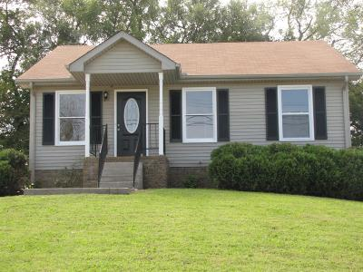 Clarksville Single Family Home Under Contract - Showing: 2750 Union Hall Rd