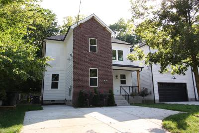 Nashville Single Family Home Under Contract - Not Showing: 1336 Cardinal Ave