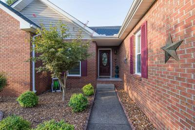 Clarksville TN Single Family Home Under Contract - Not Showing: $193,000