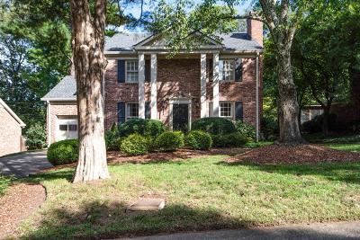 Nashville Single Family Home For Sale: 4402 Glendale Sq