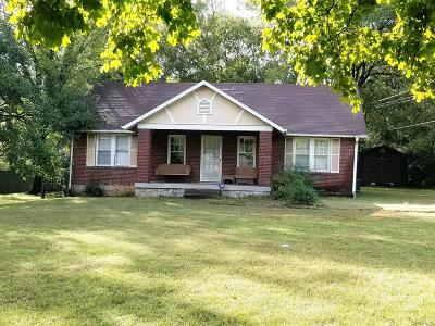 Nashville Single Family Home Under Contract - Showing: 138 McGavock Pike