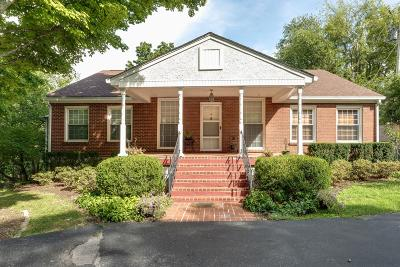 Franklin Single Family Home For Sale: 496 Franklin Rd