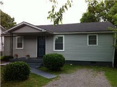 Nashville Single Family Home Under Contract - Not Showing: 905 Free Silver Rd