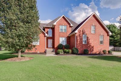 Mount Juliet Single Family Home For Sale: 3014 Nottingham Cir