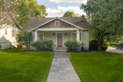 Sylvan Park Single Family Home Under Contract - Showing: 4911 Elkins Ave