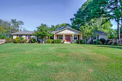 Williamson County Single Family Home Under Contract - Not Showing: 101 Churchill Pl