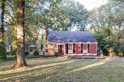 Belle Meade Single Family Home Under Contract - Not Showing: 4314 Sunnybrook Dr