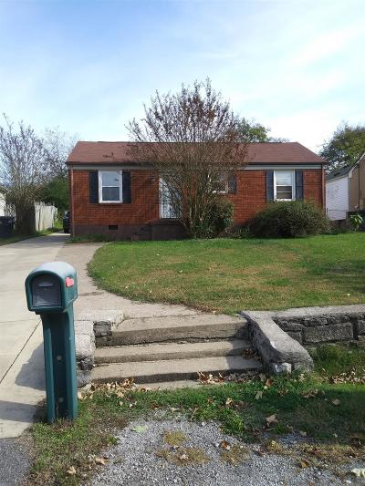 Nashville Single Family Home For Sale: 632 Freedom Pl