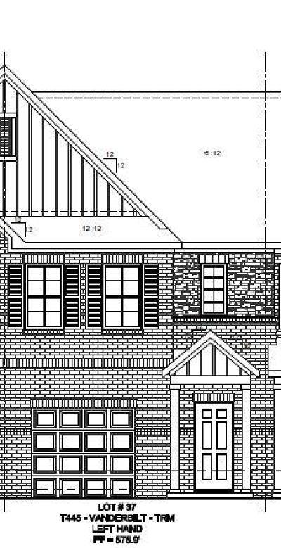 Nashville Condo/Townhouse For Sale: 2512 Newsome Mill Lane (Lot 37)
