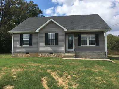 Lewisburg Single Family Home Under Contract - Showing: 196 Trey Dr