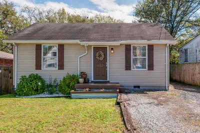 Nashville Single Family Home Under Contract - Showing: 632 James Ave