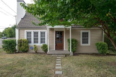 East Nashville Single Family Home Under Contract - Showing: 1624 A Porter Ave
