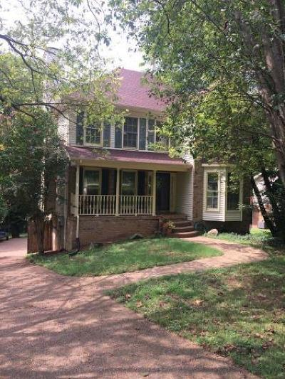 Hendersonville Single Family Home For Sale: 1421 Shoreside Dr