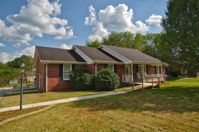 Woodbury TN Single Family Home Sold: $165,500