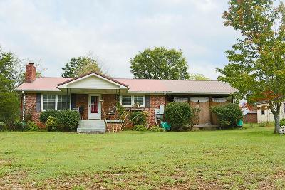 Smyrna, Lascassas Single Family Home Under Contract - Not Showing: 5858 Lee Rd