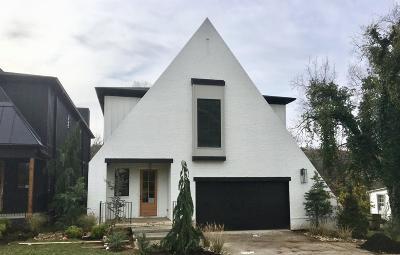 Nashville Single Family Home For Sale: 1811 Castleman Dr
