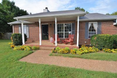 Robertson County Single Family Home For Sale: 6278 Kenwood Dr