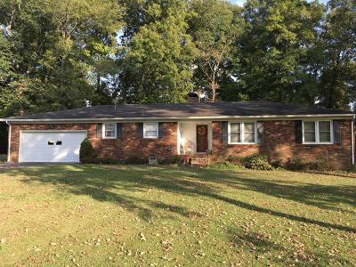 Christian County Single Family Home For Sale: 13490 Greenville Road