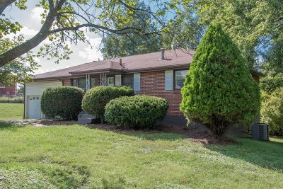 Springfield Single Family Home Under Contract - Showing: 1719 Meadowbrook Dr