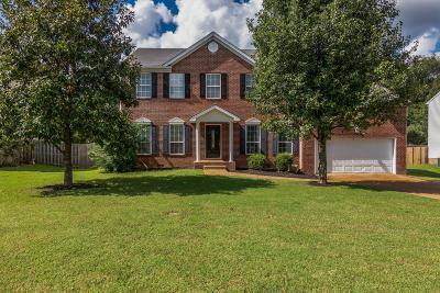 Spring Hill Single Family Home For Sale: 2907 Buckner Ln
