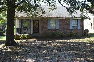 Madison Single Family Home For Sale: 524 Kinsey Blvd