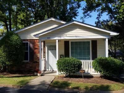 Nashville Single Family Home For Sale: 100 Five Oaks Drive