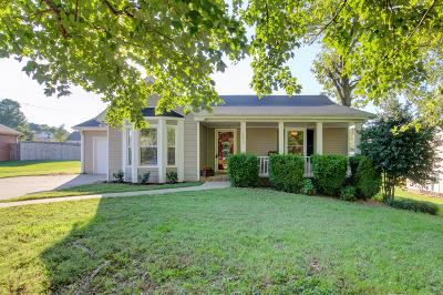 Clarksville Single Family Home Under Contract - Showing: 3425 Shagbark Cir