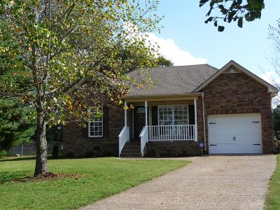 Robertson County Single Family Home Under Contract - Showing: 4006 Swift Springs Ct