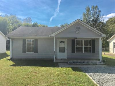 Oak Grove Single Family Home Under Contract - Not Showing: 630 Stateline Road